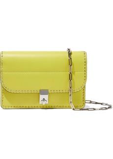 Valentino Garavani Woman Rockstud Leather Shoulder Bag Lime Green