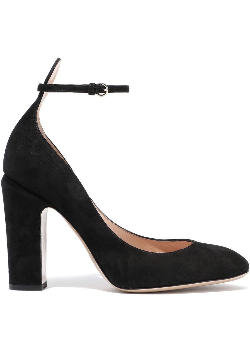 Valentino Garavani Woman Suede Pumps Black