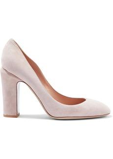 Valentino Garavani Woman Suede Pumps Pastel Pink