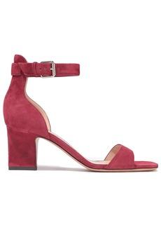 Valentino Garavani Woman Suede Sandals Claret