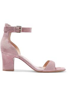 Valentino Garavani Woman Suede Sandals Lilac