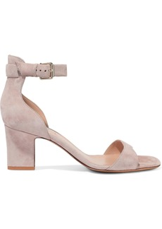 Valentino Garavani Woman Suede Sandals Blush