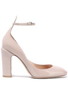 Valentino Garavani Woman Tango Patent-leather Pumps Neutral