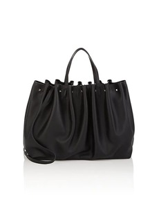 Valentino Garavani Women's Bloomy Leather Tote Bag - Black