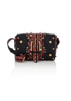 Valentino Garavani Women's Leather Shoulder Bag - Black Pat.