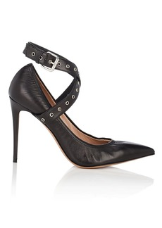 Valentino Garavani Women's Leather Wraparound-Strap Pumps