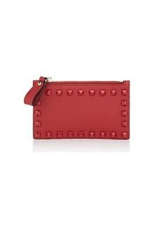 Valentino Garavani Women's Rockstud Leather Card Case