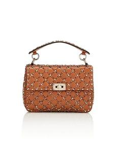 a600394034 Valentino Garavani Women's Rockstud Spike. It Medium Leather Shoulder Bag -  Brown