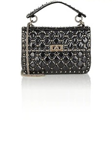 Valentino Garavani Women's Rockstud Spike Medium Shoulder Bag - Black