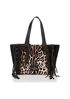 Valentino Garavani Women's Small Calf Hair Tote Bag