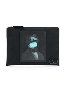 Valentino Garavani x Undercover clutch