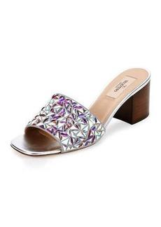Valentino Glam Tile 60mm Slide Sandal
