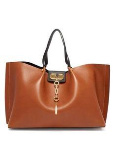 Valentino Go Logo Escape leather tote bag