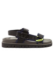 Valentino Go Logo hiking sandals