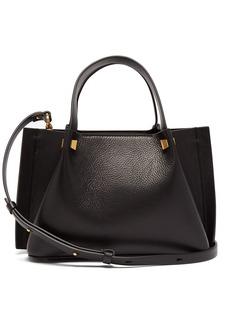 Valentino Go Logo small leather shoulder bag