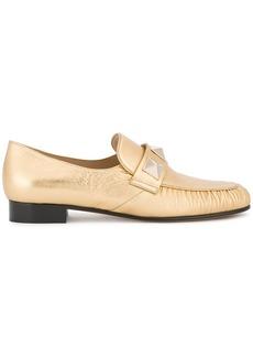 Valentino Rockstud loafers - Metallic
