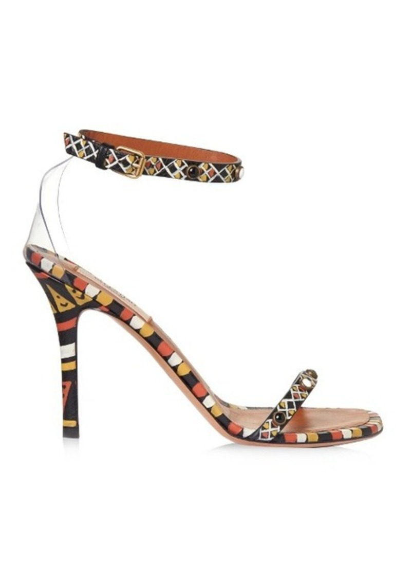 Valentino Hand-painted leather sandals