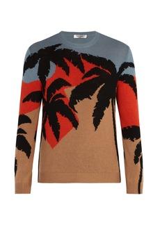 Valentino Hawaiian knit sweater