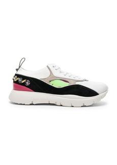 Valentino Heroes Her Embellished Heel Sneakers