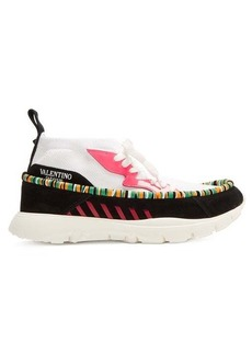 Valentino Heroes Tribe high-top trainers