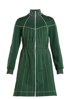 Valentino High-neck jersey dress