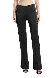 Valentino High-Rise Jersey Pants