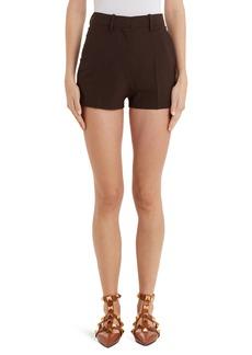 Valentino High Waist Shorts