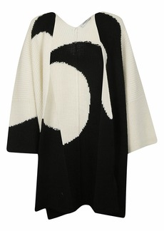 Valentino Knitted Poncho