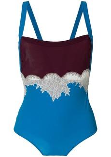 Valentino lace body - Blue
