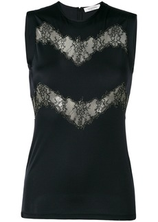 Valentino lace cut-out tank top - Black