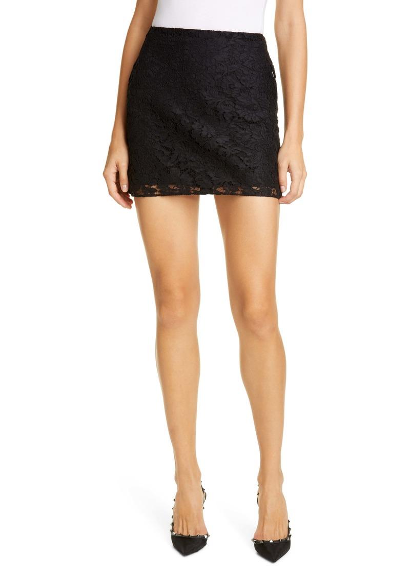 Valentino Lace Miniskirt