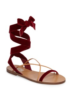 Valentino Lace-up Sandal (Women)