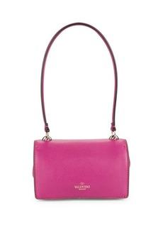 VALENTINO GARAVANI Leather Convertible Shoulder Bag