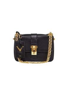 Valentino Leather Medium Shoulder Bag