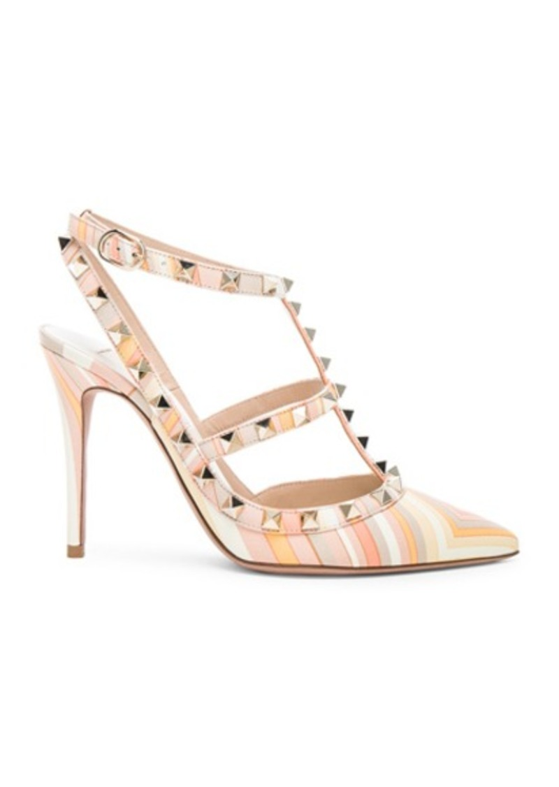 Valentino Leather Rockstud 1975 Heels