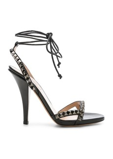 Valentino Leather Rockstud No Limit Strappy Sandals