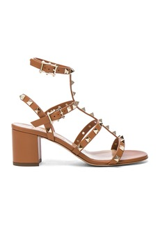 Valentino Leather Rockstud Sandals