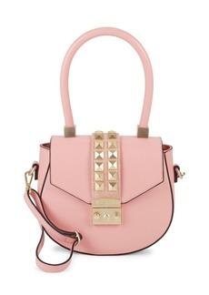 Valentino by Mario Valentino Leather Saddle Bag