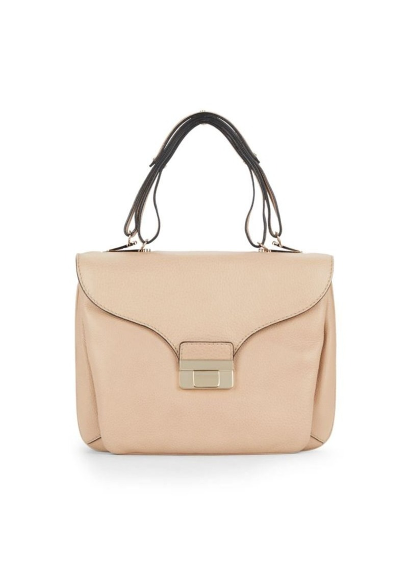 Valentino Leather Top-Handle Bag