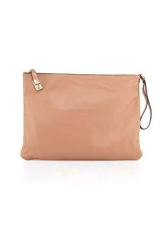 Valentino Leather Wristlet/Clutch Bag