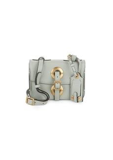 VALENTINO GARAVANI Lock Stud Leather Shoulder Bag