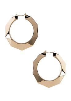 Valentino Logo Hoop Earrings