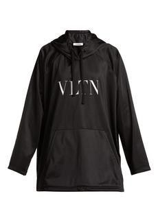 Valentino Logo-print jersey hooded sweatshirt
