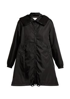 Valentino Logo-print parka coat