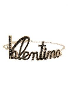 Valentino Logo Script Bracelet