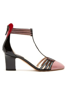 Valentino Love Blade patent-leather pumps