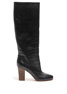 Valentino Lovestud Rockstud leather boots