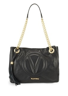 Valentino by Mario Valentino Luisa 2 Leather Shoulder Bag