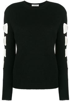 Valentino Maglia crew neck sweater - Black
