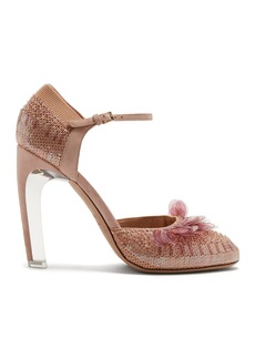 Valentino Mary-Jane knitted pumps